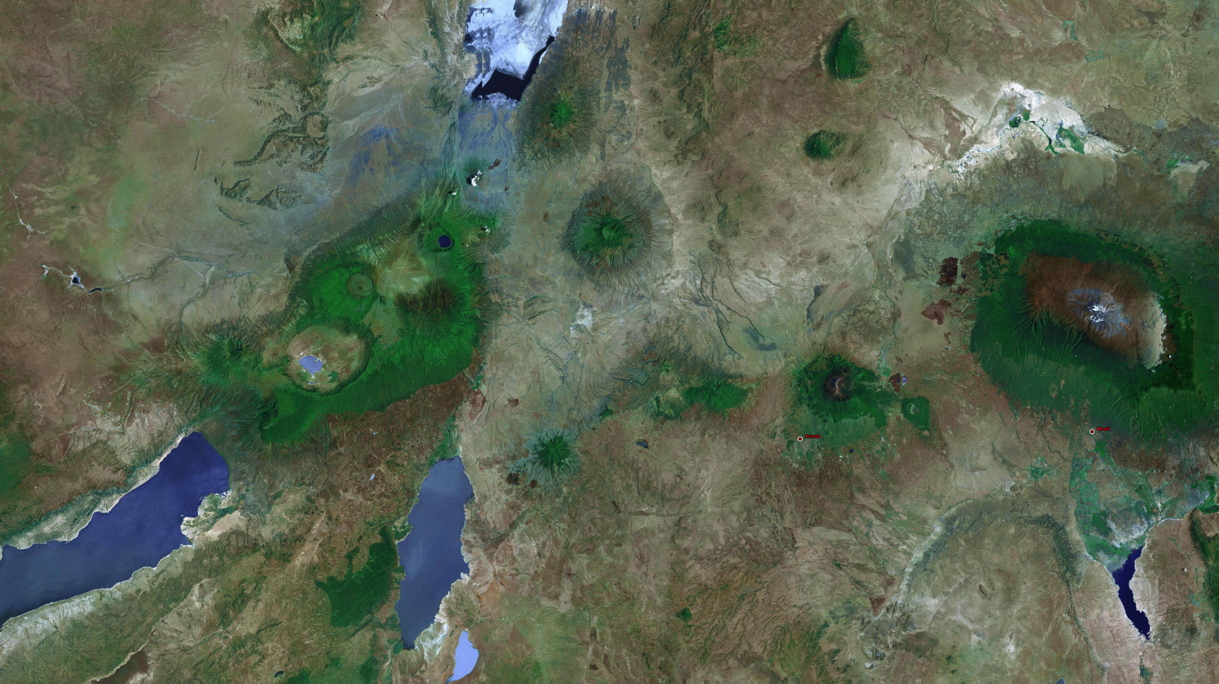 PeoplePeople Safaris - High resolution aerial maps